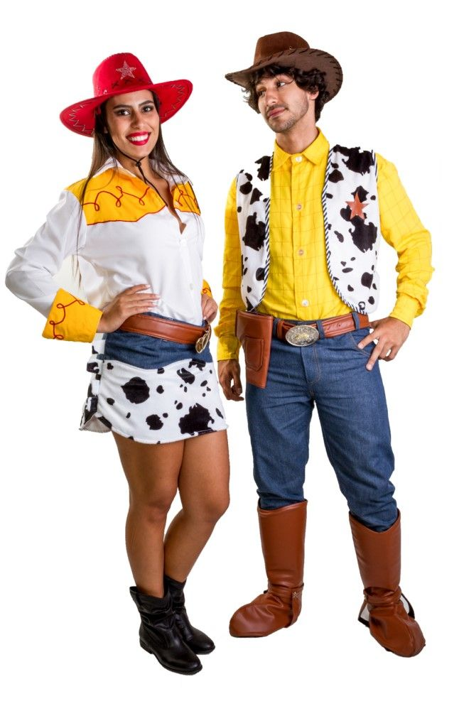 Casal Toy Story