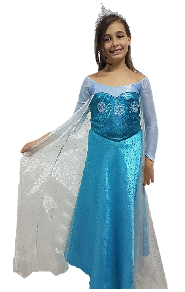 Princesa Elza Frozen ELF-LL